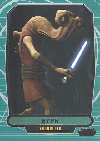 Star Wars Galactic Files Topps 2013 Collectible Card BYPH #574