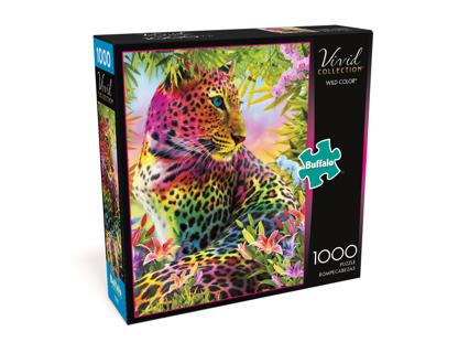 Vivid Wild Color 1000 Piece Jigsaw Puzzle