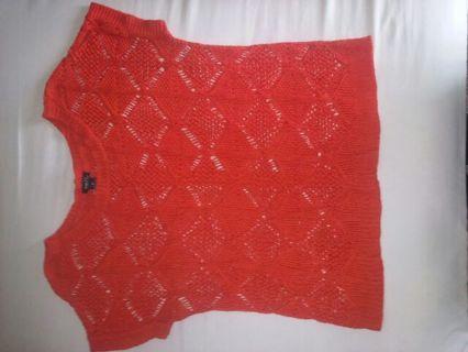 Rue21 short sleeve cardigan(?) Sz XL