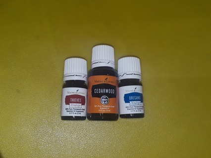 ◕‿◕**NEW NOT EVEN OPENED**3 Different Oils From Young Living!!!~GIN BONUS See Description~◕‿◕