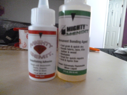 Free Mighty Mendit Glue And Mighty Gemit Embellishing Adhesive