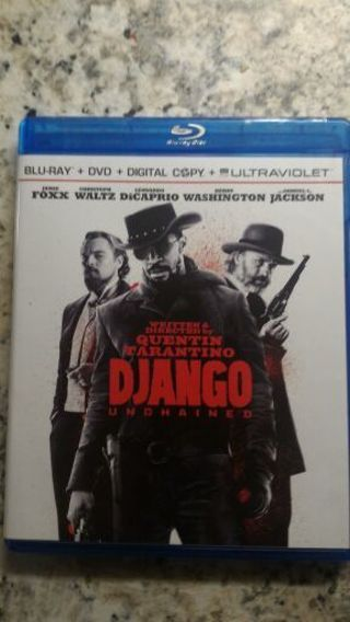 Django Unchained HD iTunes Digital Copy