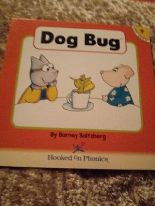 Used Children's Hooked on Phonics Book Dog Bug