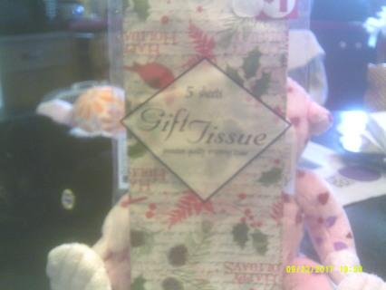 Cardinal Gift Tissue