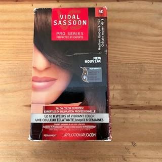 BNIB Vidal Sassoon Medium Golden Brown Permanent Hair Color