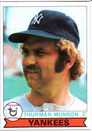 1979 Topps Burger King Thurman Munson