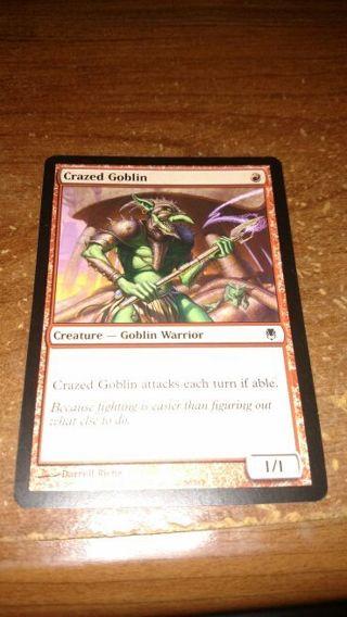 MTG Darksteel Crazed Goblin