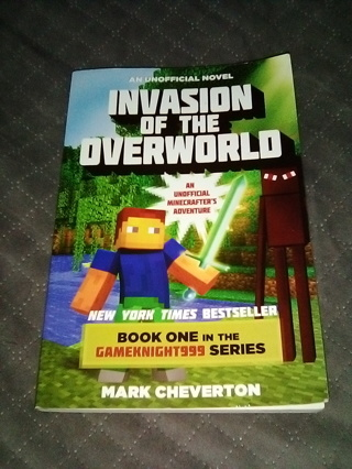 "Unofficial Novel; ""Invasion of the Overworld"" / Like New Paperback Book / Free Shipping"