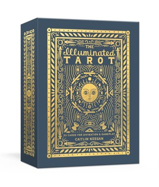 NEW The Illuminated Tarot: 53 Cards for Divination & Gameplay FREE SHIPPING