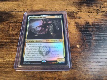 Magic the gathering mtg Shadrix Silverquill foil Mythic Rare Strixhaven