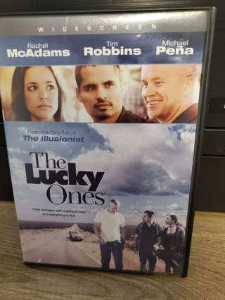 """DVD - """"The Lucky Ones"""" - rated R"""