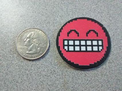 Smiley Foam Sticker (Red #1)