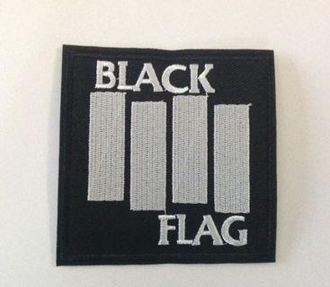 BLACK FLAG PATCH