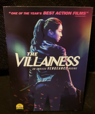 """DVD - """"The Villainess"""" - not rated"""
