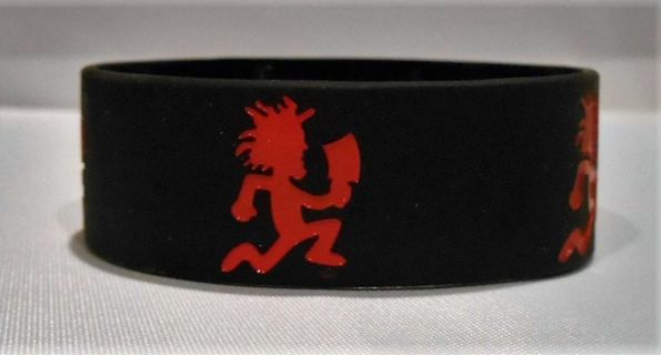 1 ICP INSANE CLOWN POSSE SILICONE WRISTBAND BRACELET HATCHET MAN