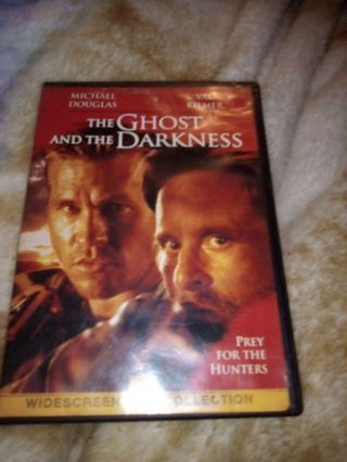 The Ghost And The Darkness DVD USED!