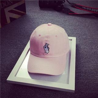 Men Women Peaked HipHop Cap Peaked Adjustable Strapback Snapback Baseball Hat