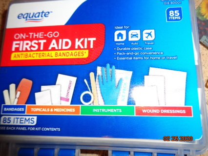 restock your 1st aid kit