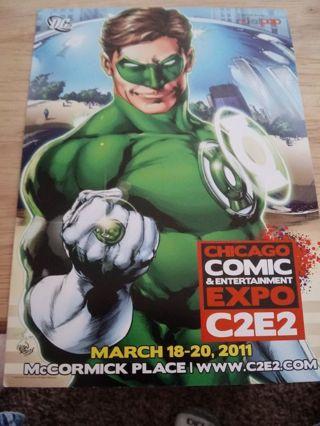 Comic con card