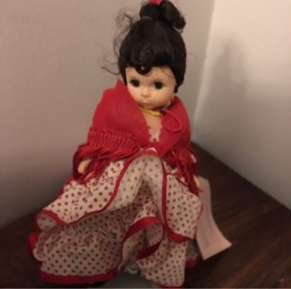 """❤️ Collectible — MADAME ALEXANDER Doll """"SPAIN"""" International Doll ,  FREE Shipping!!"""