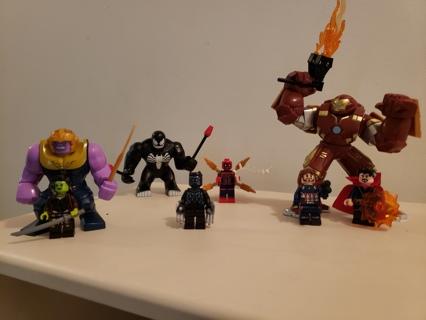 Marvel Avengers Minifigures