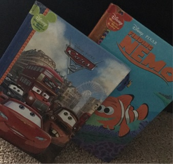 CARS AND FINDING NEMO KIDS DISNEY BOOKS