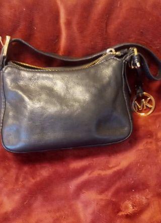 Michael Kors Small Black Leather Bag!