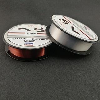 [GIN FOR FREE SHIPPING] 100m Sea Fishing Line Red Transparent