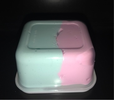 Cotton candy butter slime  ~ stress reliever