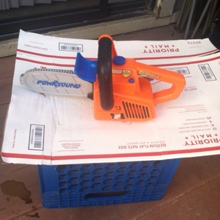Kids chainsaw toy