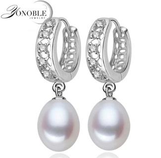 925 sterling silver pearl earrings fine white pearl earrings jewelry brincos perolas