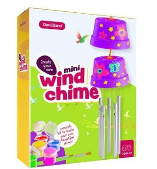 50% OFF! Create & Paint a Mini Wind Chime Making Kit