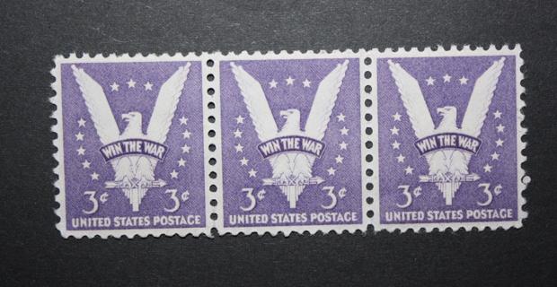 1942 U.S. Stamps - SC905 - American Eagle Victory 3 Cent - Mint, Unused, NH, OG