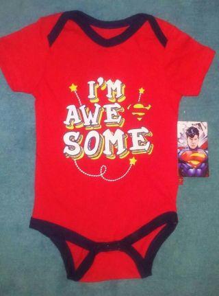 "⭐BNWT⭐ Superman ""I'm Awesome"" Onesie"