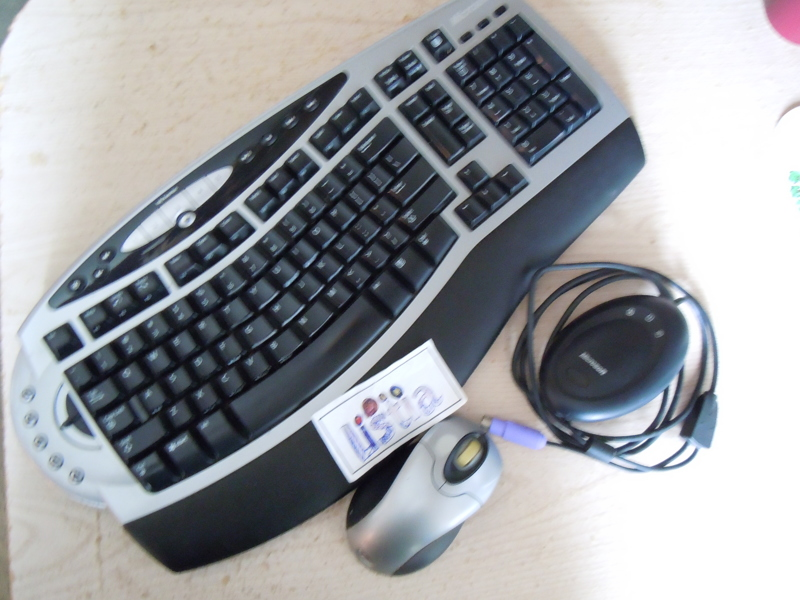 microsoft ergonomic keyboard 4000 instructions