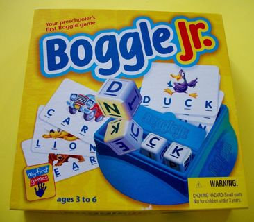 Boggle Jr. Game