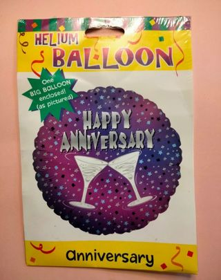 New! Happy Anniversary Foil Balloon