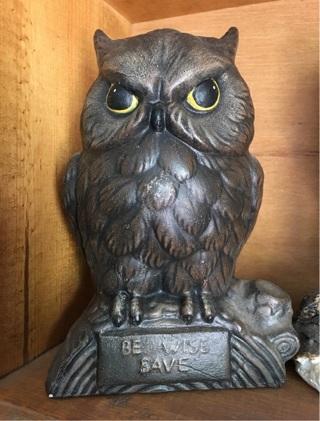 """6"""" Ceramic Owl"""