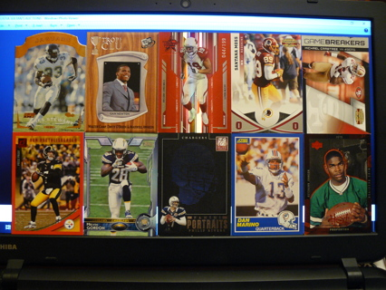 (10) Football Cards Stars, HOFers, Serial #'d or Inserts - LOT 10 - Read Details