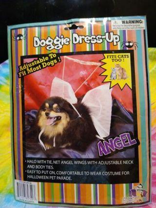 NIP DOGGIE DRESS-UP ANGEL CUSTOM FITS CATS TOO! #2
