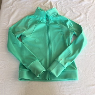 Girls Size 7-8 M Zip Up Green Jacket By C9 Champion
