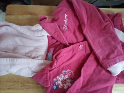 Sketchers Size 24 Months Hooded Corduroy Jacket: EUC
