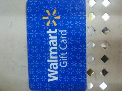$10 walmart gift card
