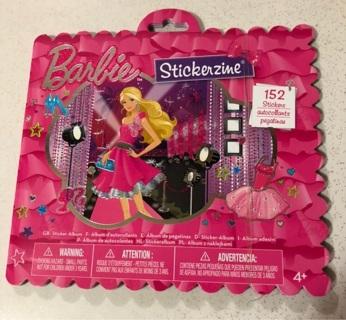 Barbie Stickerzine  Sticker Book