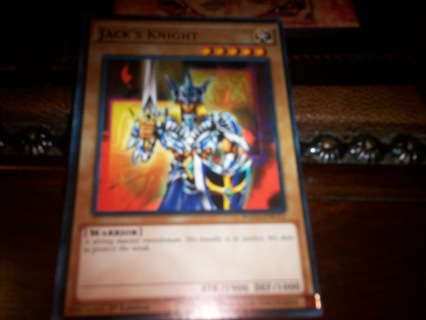 new yu-gi-oh jack's knight card