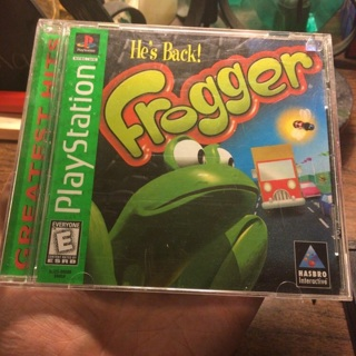 Frogger Playstation Game