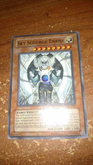 Yu-Gi-Oh card - Sky Scourge Enrise