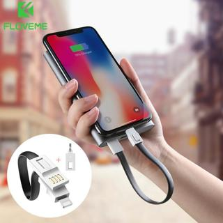FLOVEME USB Cable For iPhone XS Max XR X 7 8 6 6s Plus Micro USB Charger Cable Cord For Samsung Xi