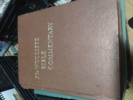 The Wycliffe Bible Commentary. Book. 1962