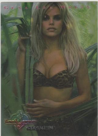 Benchwarmer 1997 ~ GENA LEE NOLIN Chromium Insert Card #1 of 12